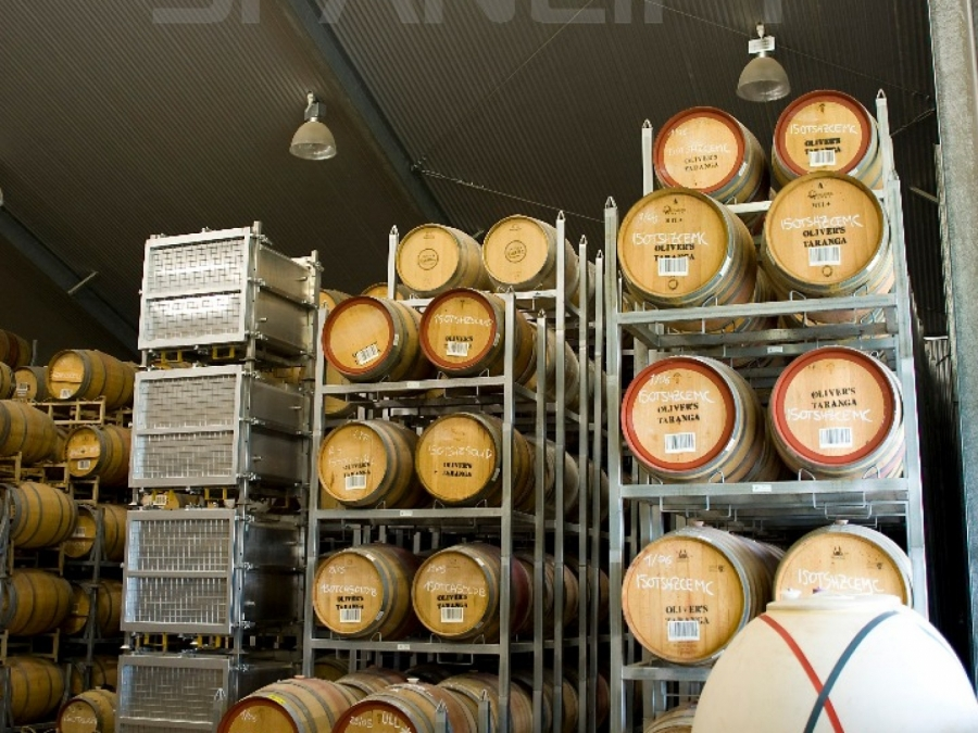Barrel Store Winery 4 Spanlift w0oYBw - Winery Building Design
