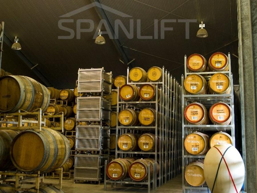Barrel Store Winery 7 Spanlift pBVug0 - Barrel Store