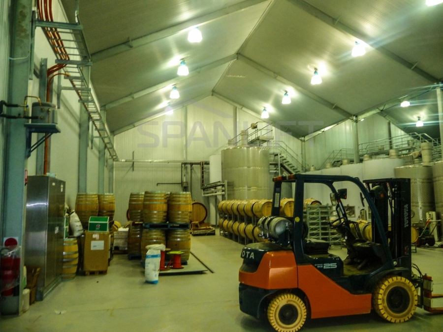 Barrel Store Winery 9 Spanlift K9aa95 - Winery Building Design