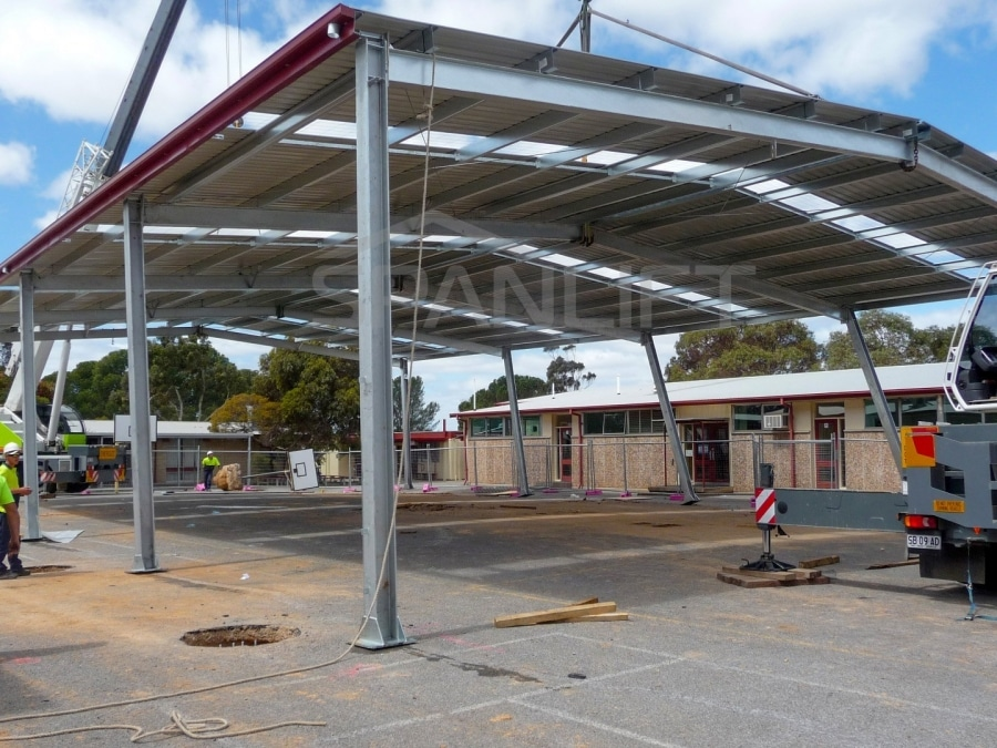 COLA 1 Spanlift 77kY4R - COLA (Covered Outdoor Learning Area)