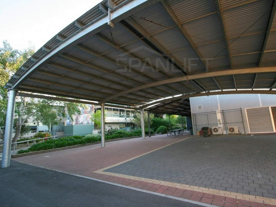 COLA 9 Spanlift x10NsC - COLA (Covered Outdoor Learning Area)