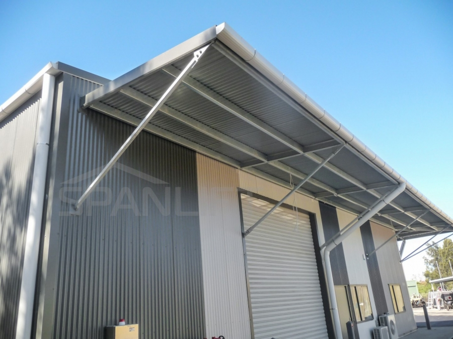 Cantilevered Canopy 3 Spanlift IP Nco - Cantilevered Canopy