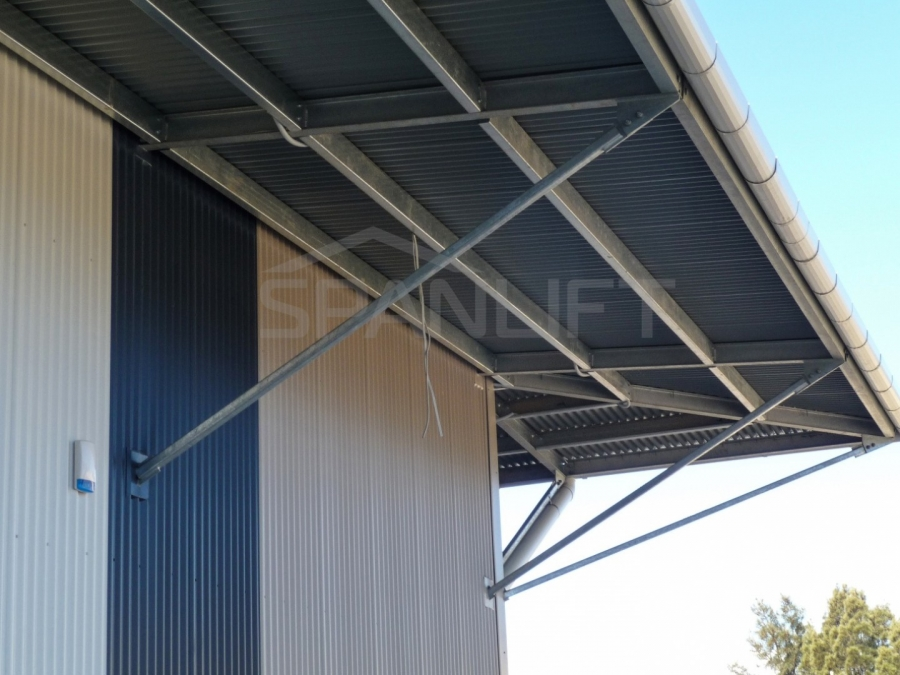 Cantilevered Canopy 5 Spanlift Ga8LRj - Cantilevered Canopy