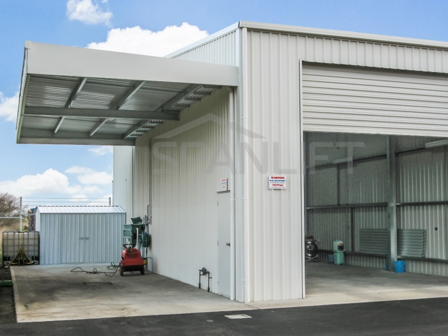 Cantilevered Canopy 9 Spanlift v2aCBh - Cantilevered Canopy