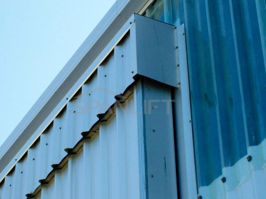Clear Wall Sheeting 3 Spanlift  TZ8PC8 - Clear Wall Sheeting