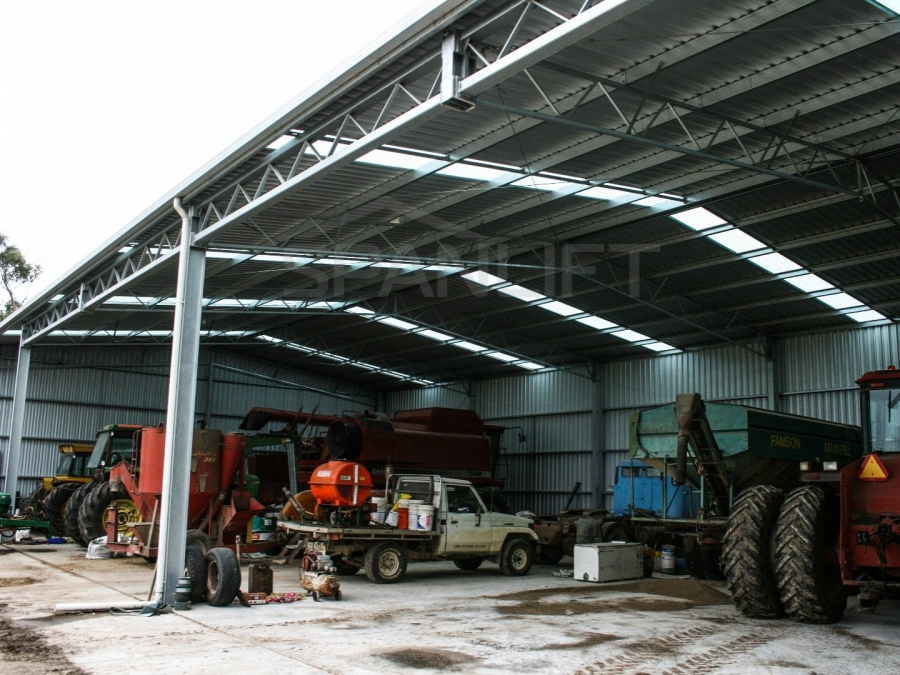 Farm Workshop Shed 1 Spanlift hze44P - Workshop Shed