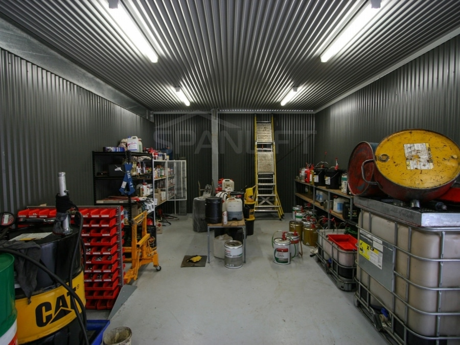 Farm Workshop Shed 11 Spanlift iQ8mw7 - Workshop Shed