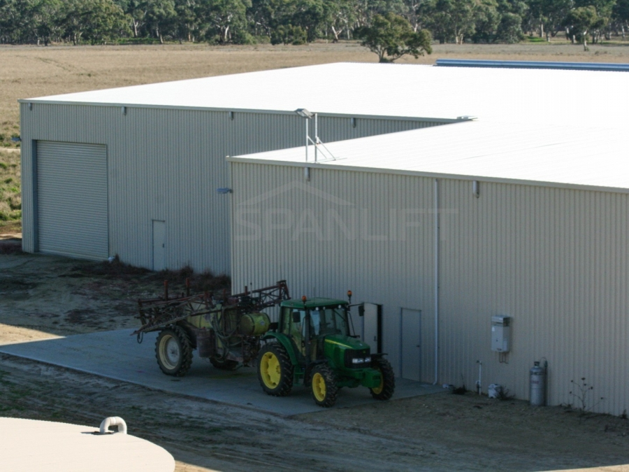 Farm Workshop Shed 22 Spanlift HIP35D - Workshop Shed