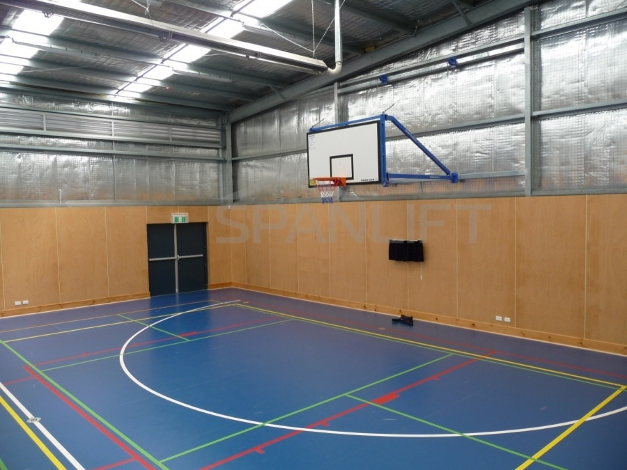 Gym Hall 3 School Spanlift hXnxYG - School Gym / Hall
