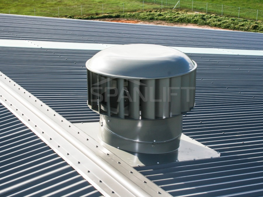 Industrial Whirly Vent 02 Spanlift  x6KF9D - Industrial Whirly Vents