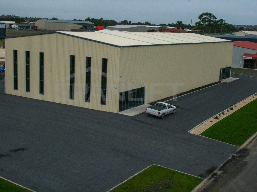 Office Warehouse 8 Commercial Spanlift  4b4hOK - Industrial Sheds