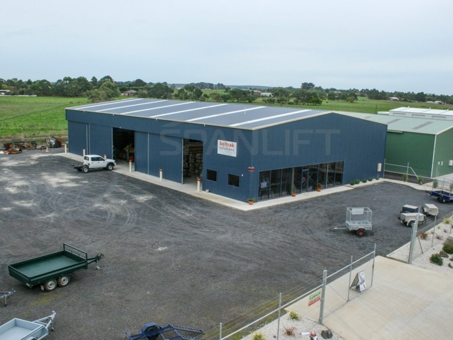 Retail Building 4 Commercial Spanlift 4nHJto - Commercial Sheds