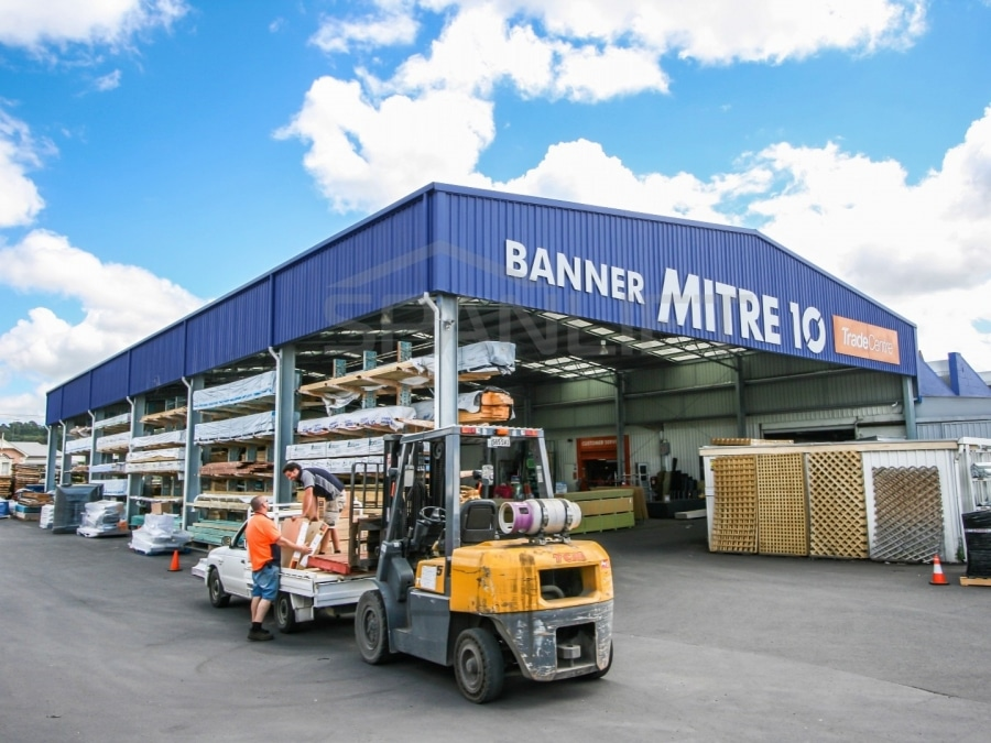 Retail Building 8 Commercial Spanlift 80U92S - Commercial Sheds