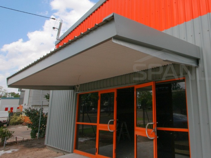 Square Line Verandah 6 Spanlift cMe50K - Square Line Verandah / Entrance