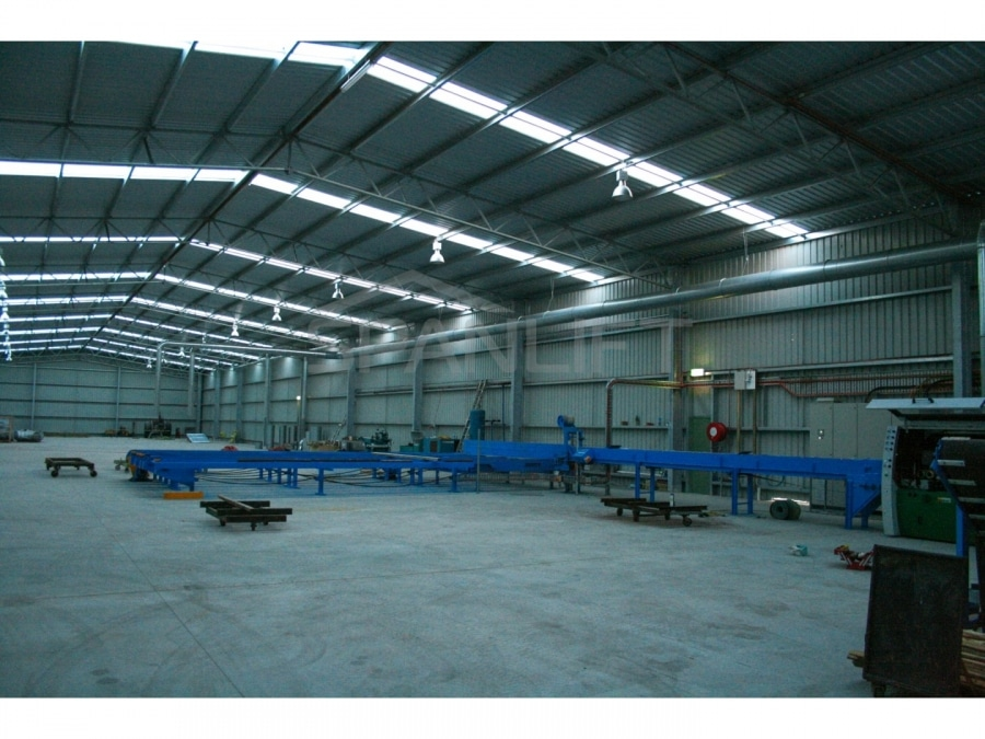 Warehouse Distribution Buildings 25 Spanlift 777Y03 - Industrial Sheds