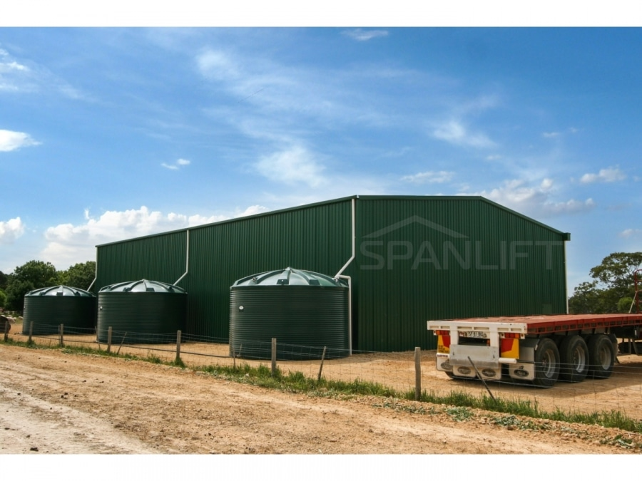 Warehouse Distribution Buildings 5 Spanlift SC3X d - Industrial Sheds