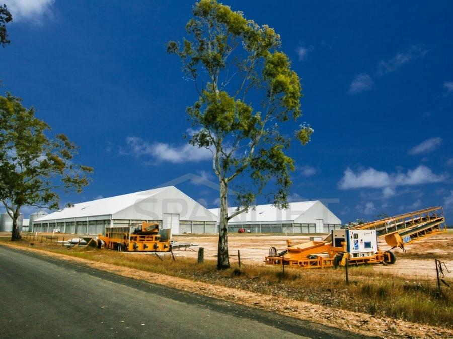 Bulk Storage Grain Shed 2 Spanlift RJS0Z2 - Bulk Storage Sheds