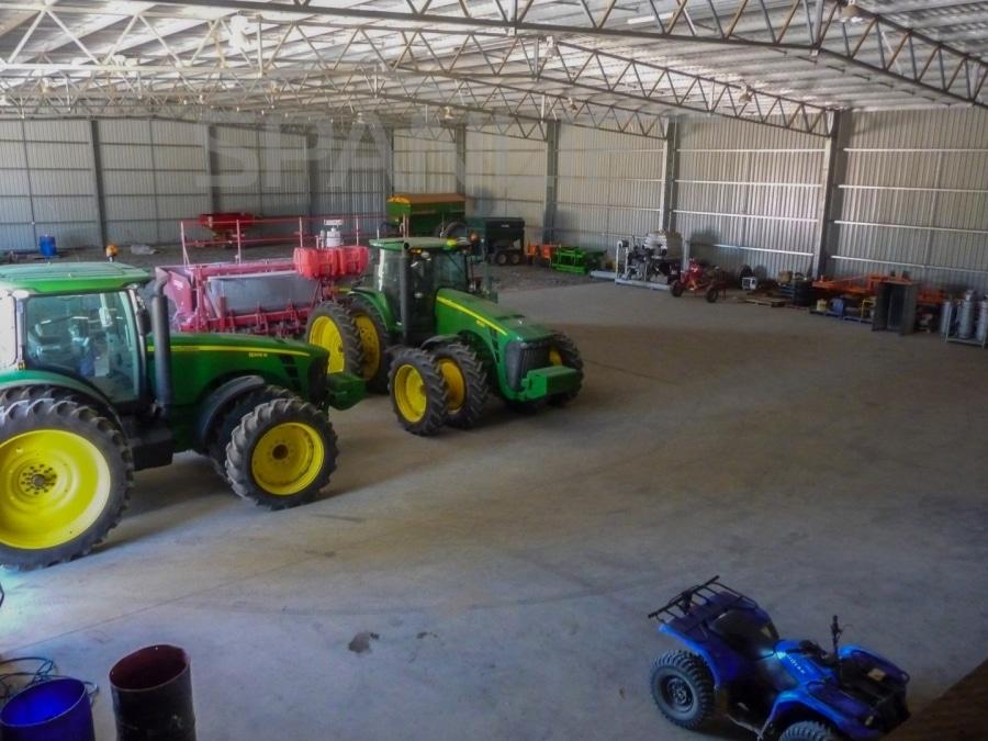Farm Workshop Shed 5 Spanlift  1I9in - Agriculture