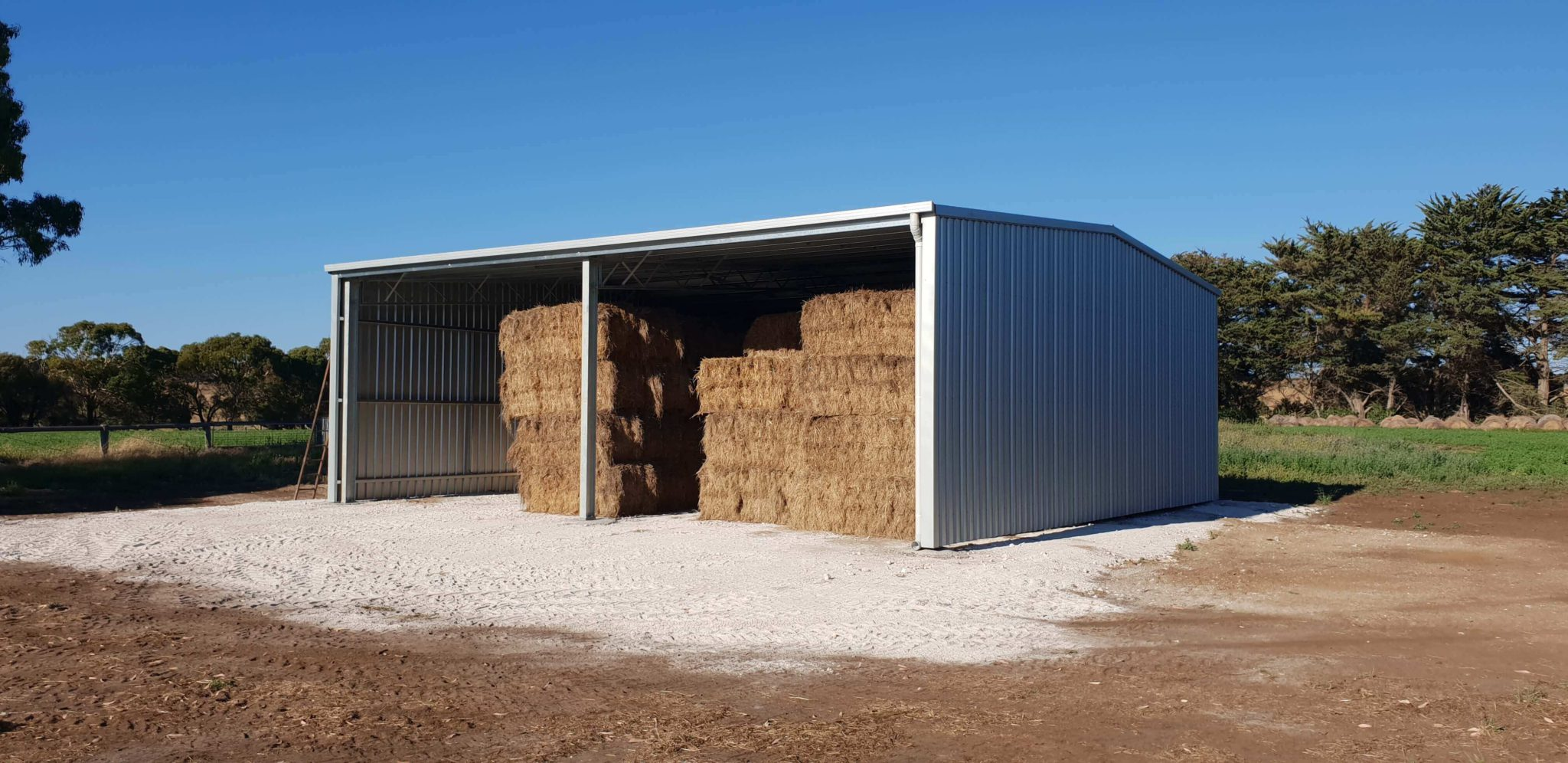 Hay Shed 3 - Farm Sheds
