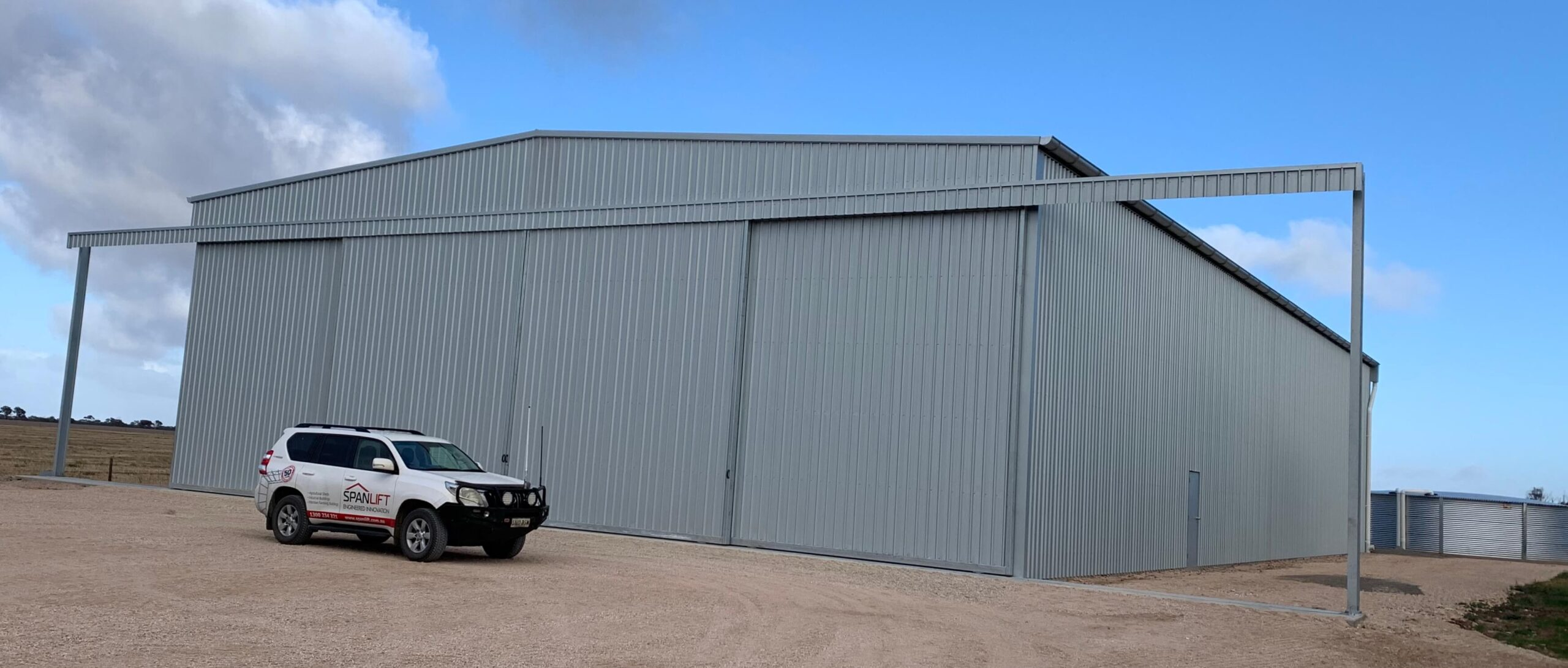 IMG E2411 scaled - Steel Agricultural Sheds