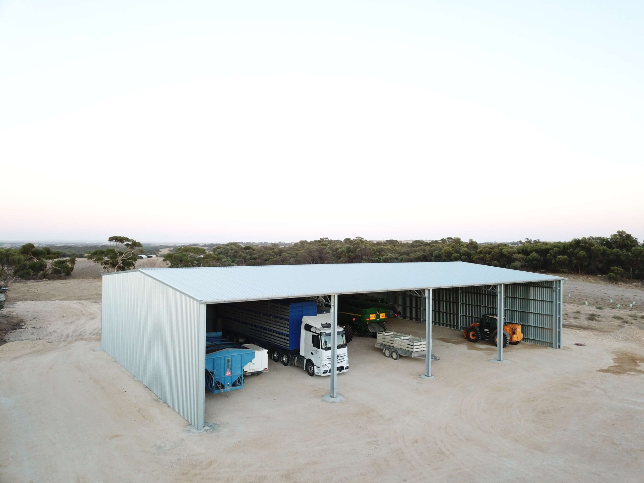 Machinery Shed 1 - Steel Agricultural Sheds