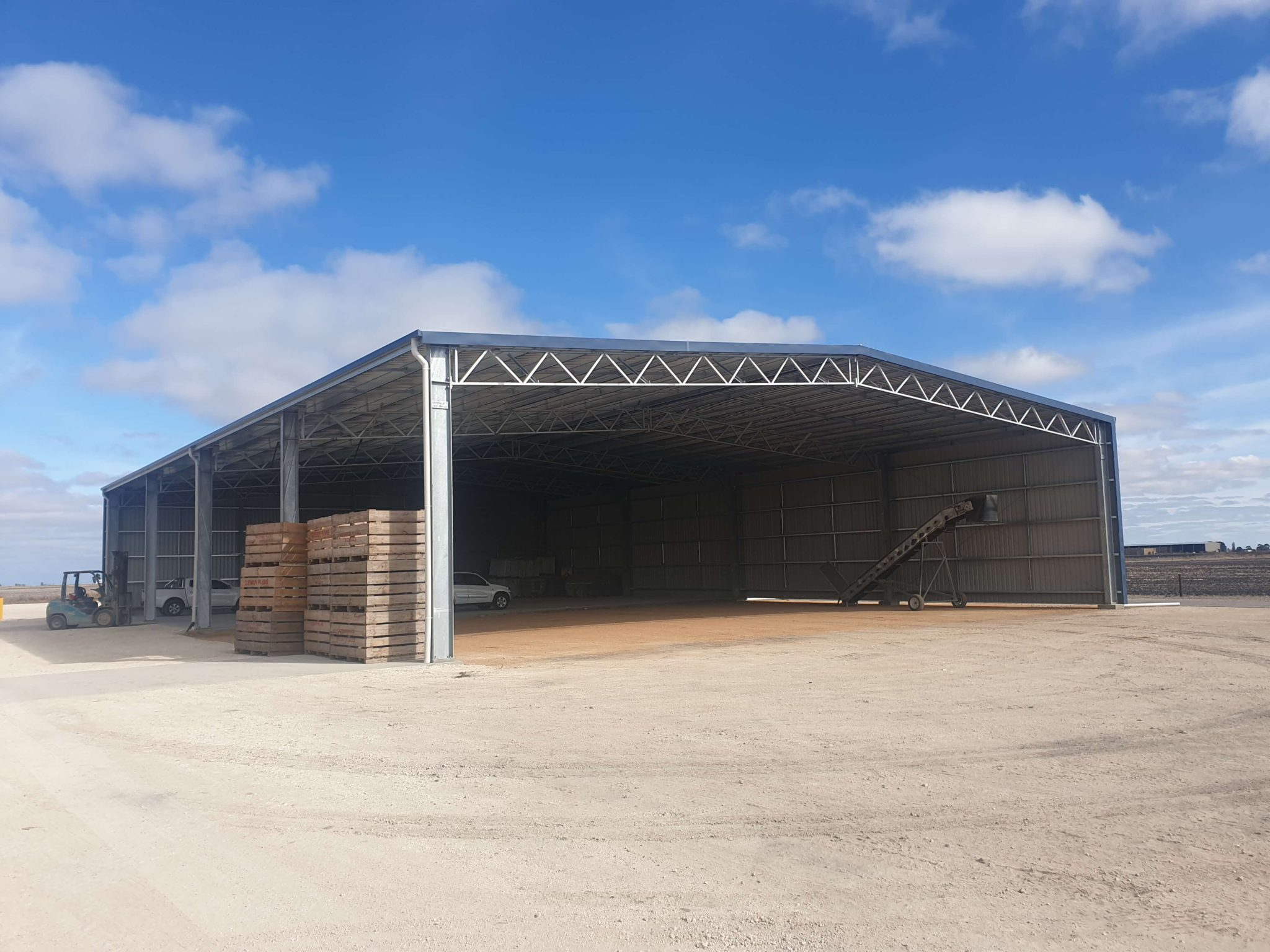 Machinery Shed 11 - Steel Agricultural Sheds