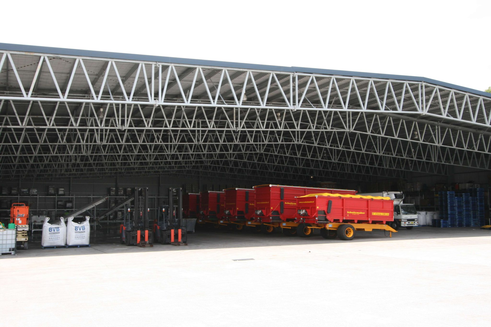 Machinery Shed 15 - Steel Agricultural Sheds