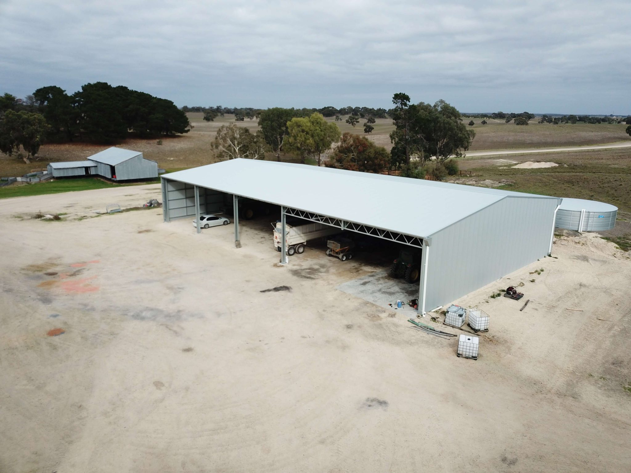 Machinery Shed 16 - Steel Agricultural Sheds
