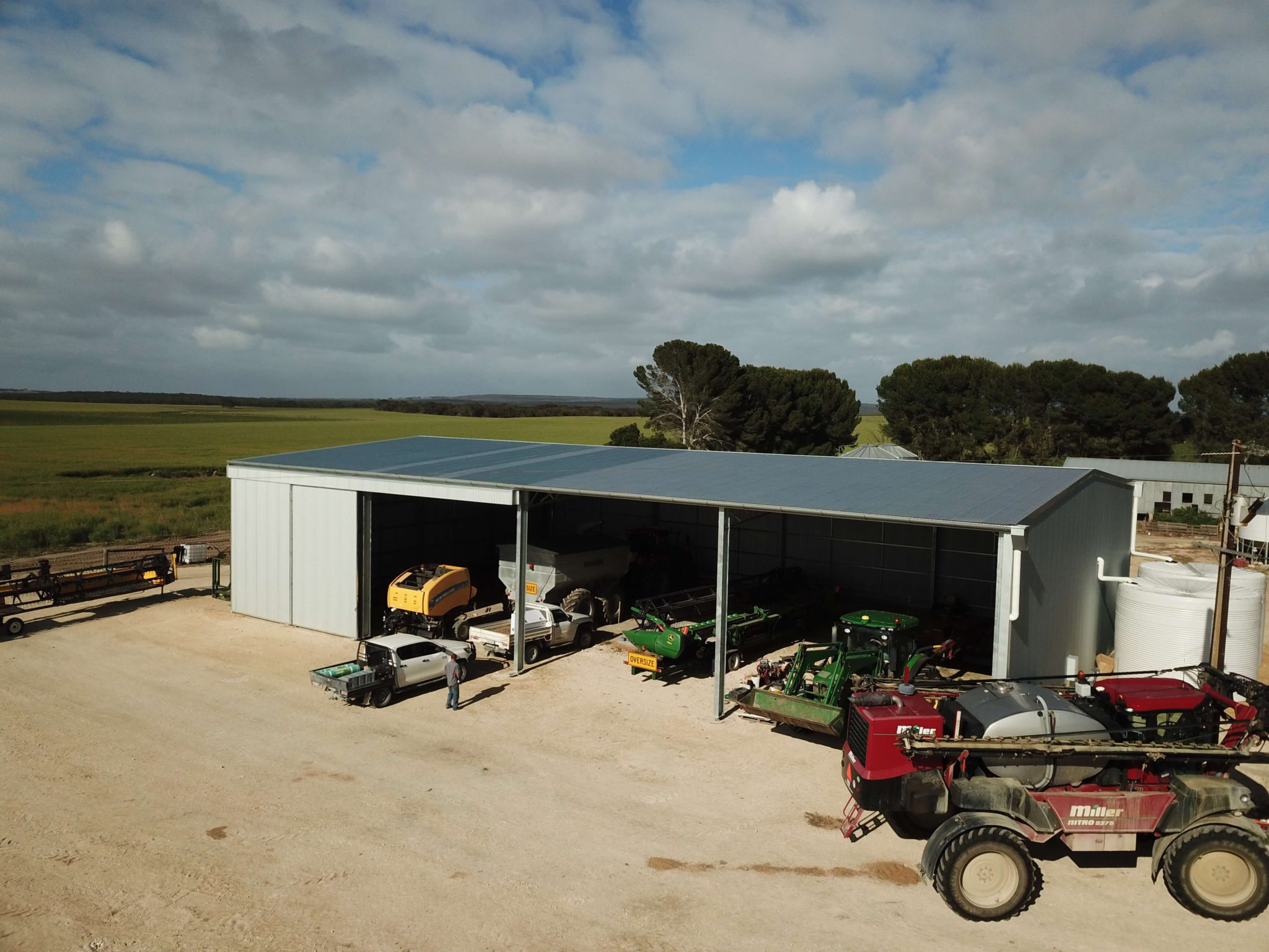 Machinery Shed 19 - Steel Agricultural Sheds