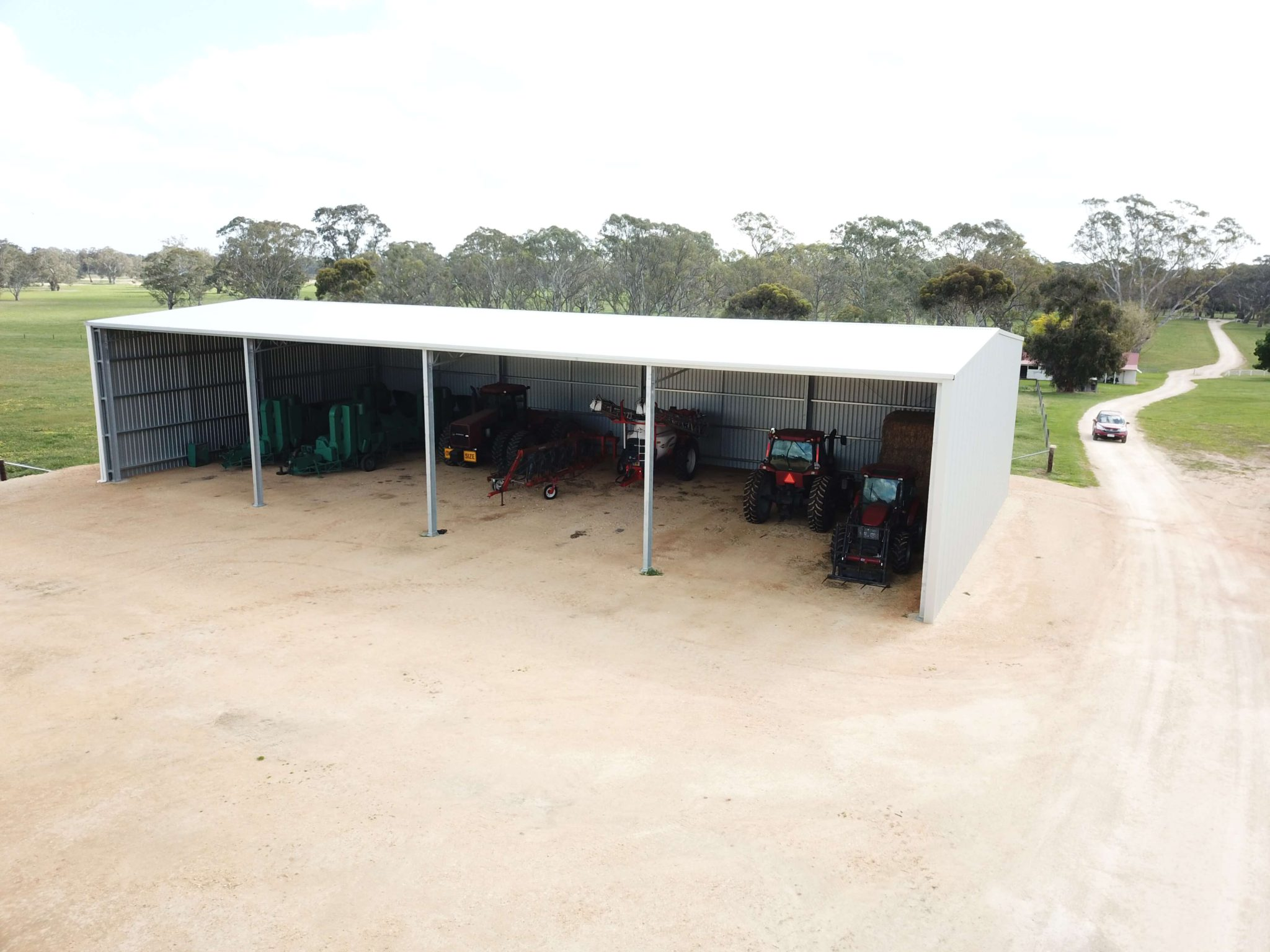 Machinery Shed 21 - Steel Agricultural Sheds