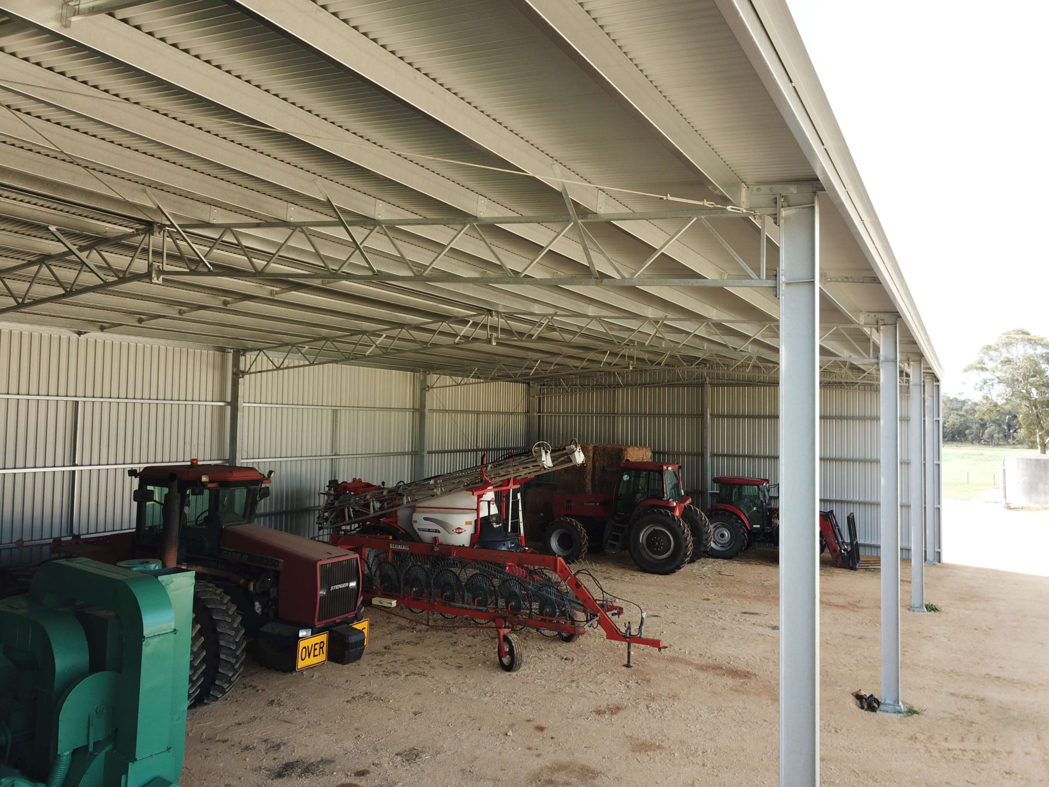 Machinery Shed 25 - Steel Agricultural Sheds