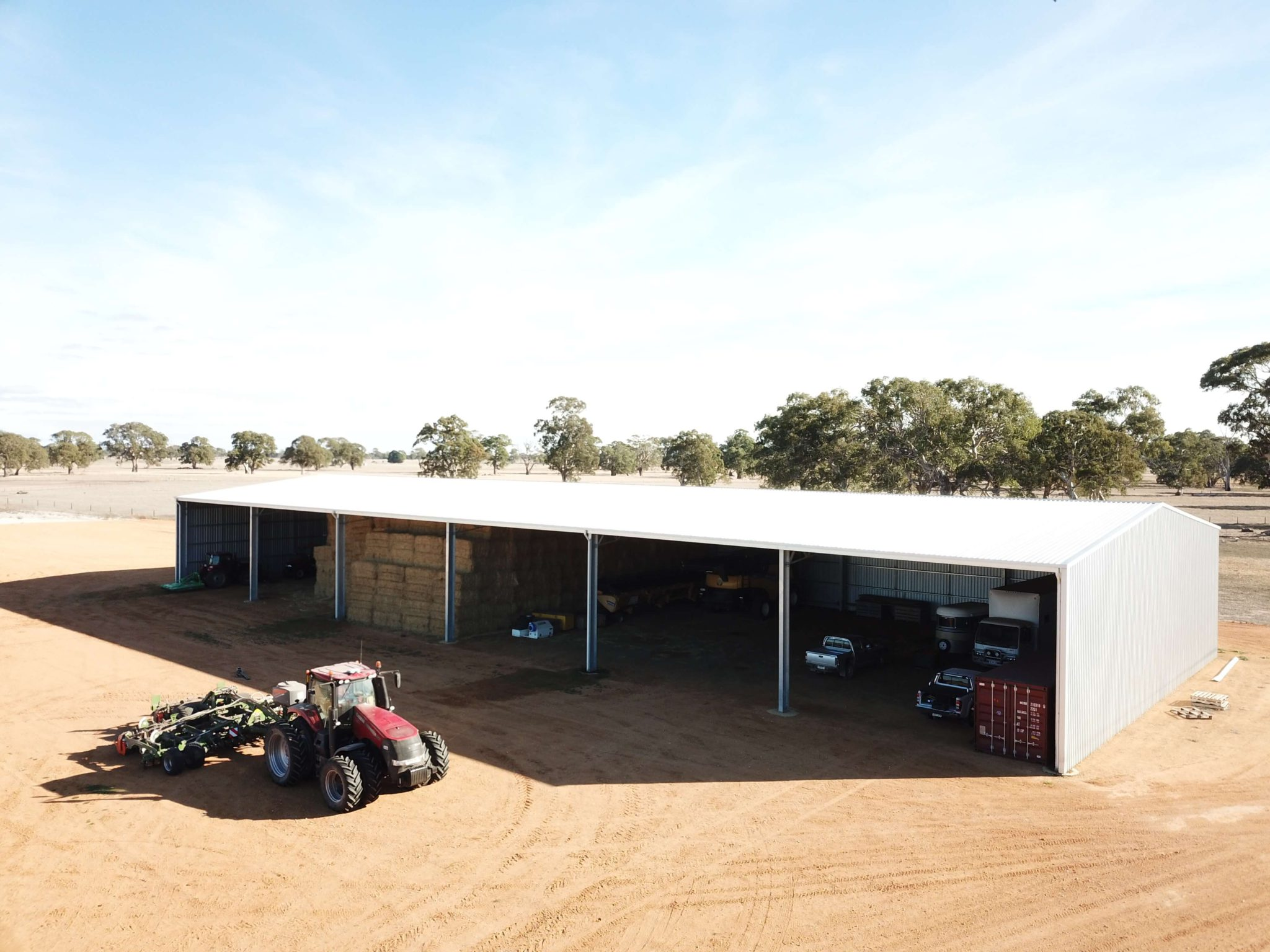 Machinery Shed 31 - Steel Agricultural Sheds