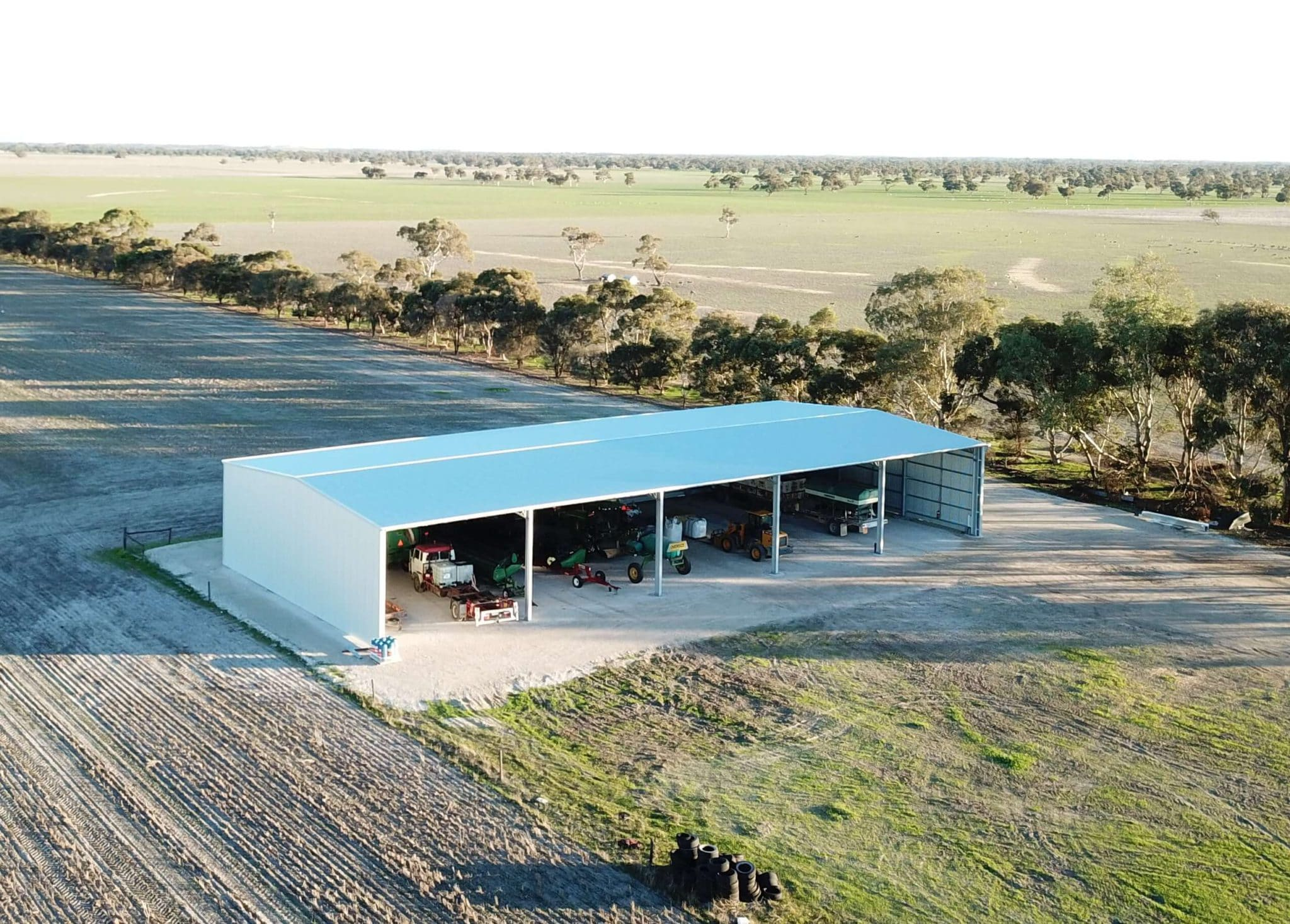 Machinery Shed 32 e1592198035208 - Steel Agricultural Sheds