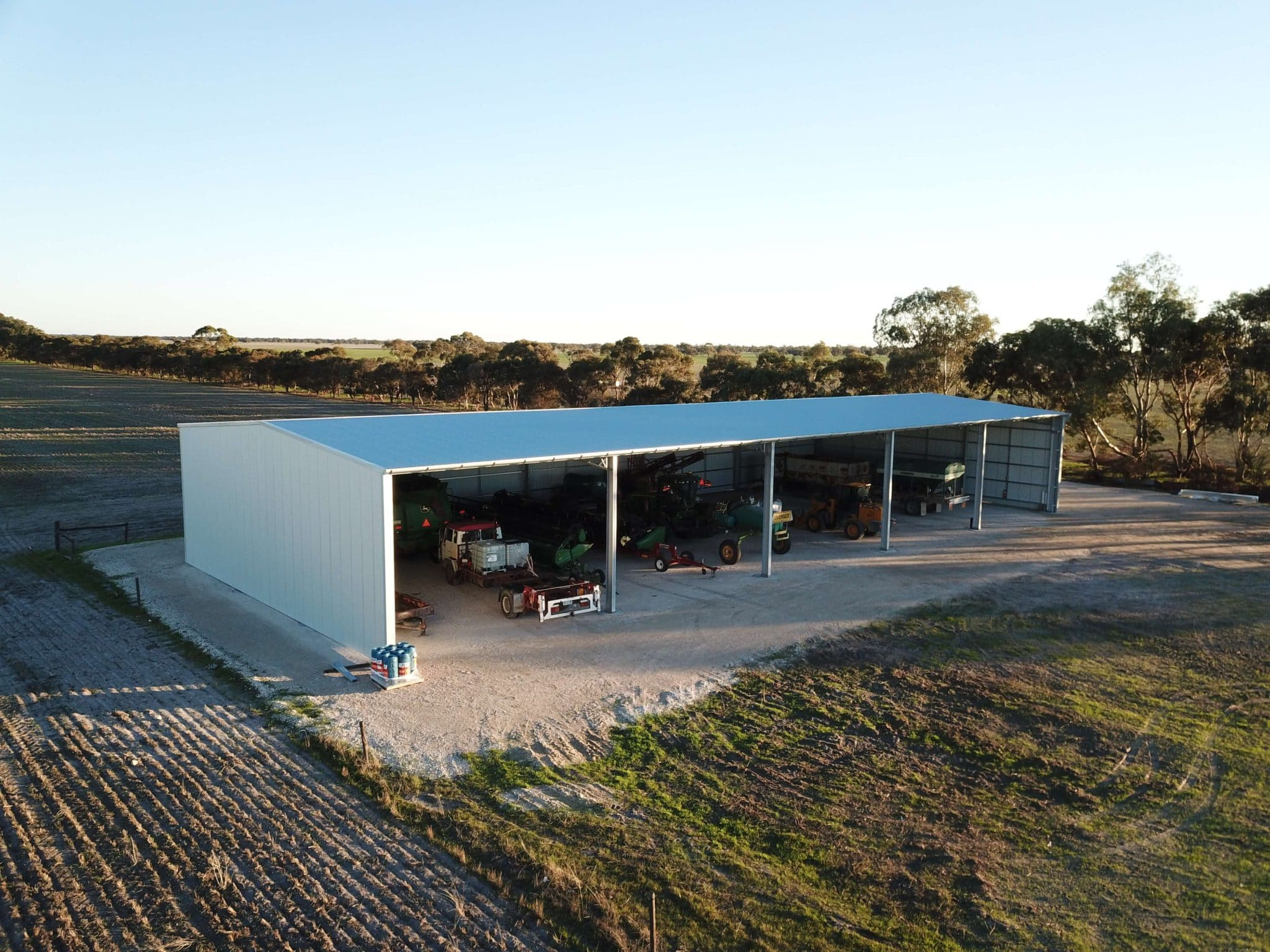 Machinery Shed 35 - Steel Agricultural Sheds