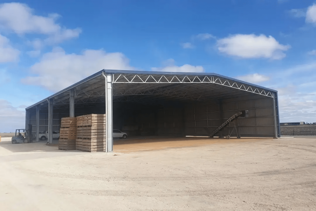 Steel Agricultural Sheds - Steel Agricultural Sheds