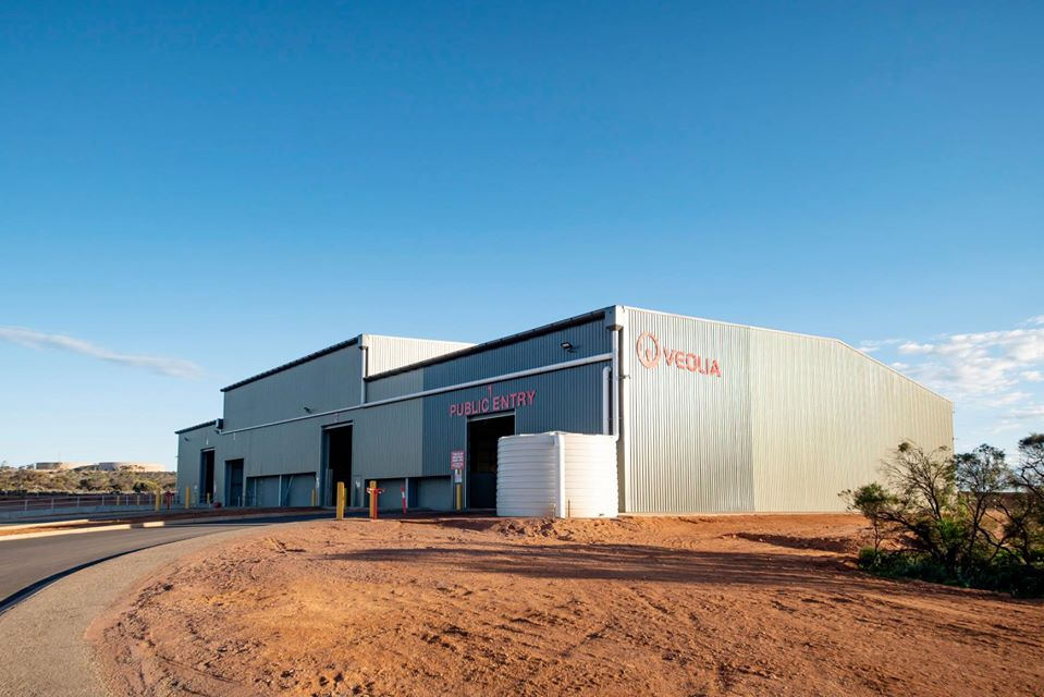 spanlift waste transfer station - Commercial Buildings