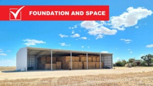 Hay shed blog 4 300x169 - Where to Build Your Hay Shed: The Checklist You Need!