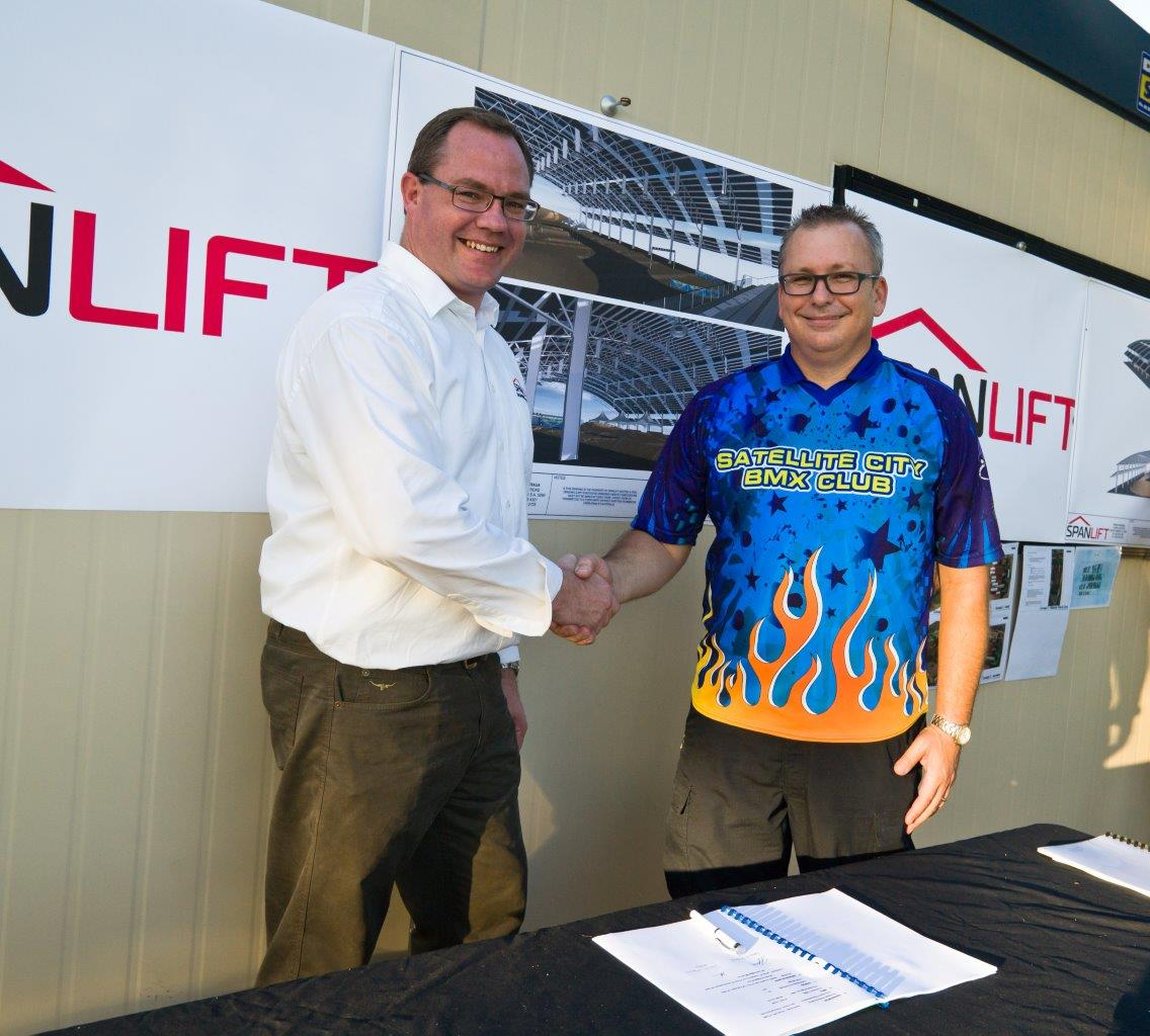 SLift 03871  DFA - Spanlift Australia to build Olympic size roof to protect Olympic BMX hopefuls from harsh Darwin elements
