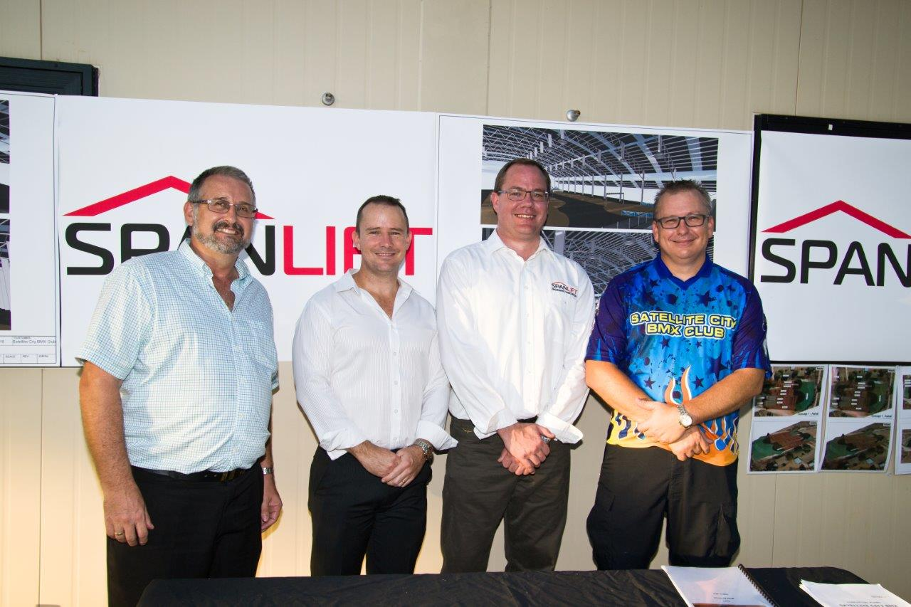 SLift 03890  DFA - Spanlift Australia to build Olympic size roof to protect Olympic BMX hopefuls from harsh Darwin elements